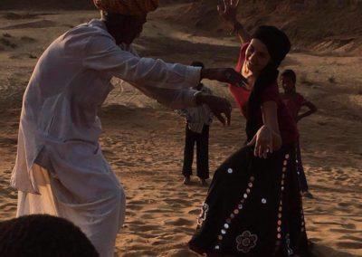 Danse du Rajasthan 2016 / Pushkar - Inde